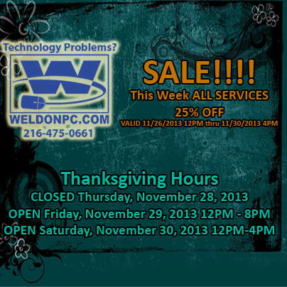 Thanksgiving Sale 2013 copy